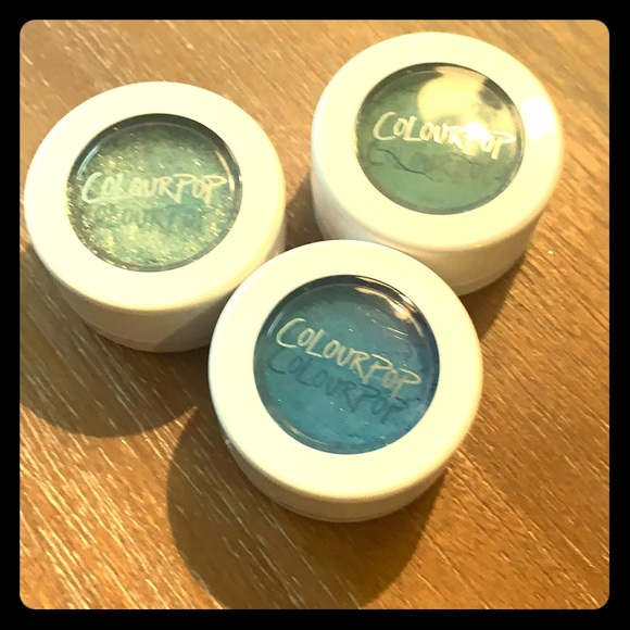 Colourpop Other - Swatched Colourpop eyeshadows!